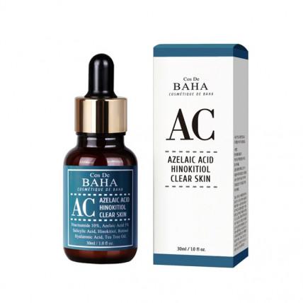 Интенсивная сыворотка против акне Cos De BAHA AC Azelaic Acid Hinokitiol Clear Skin Serum