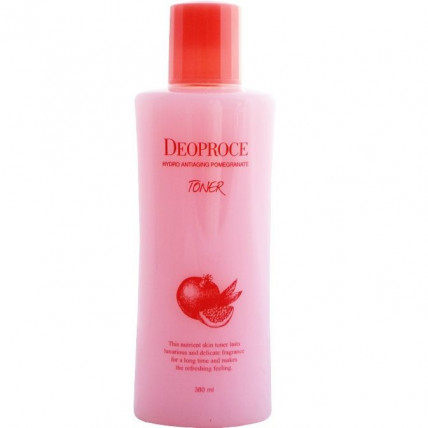 Тонер для лица антивозрастной с экстрактом граната Deoproce Hydro Antiaging Pomegranate Toner