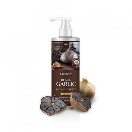 Шампунь против выпадения волос  на основе черного чеснока Deoproce Black Garlic Intensive Energy Shampoo