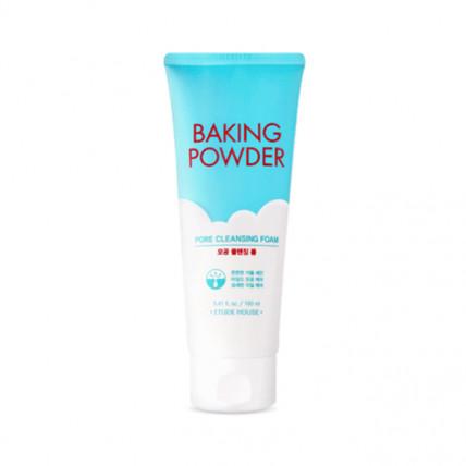 Очищающая пенка для жирной и комбинированной кожи Etude House Baking Powder Pore Cleansing Foam