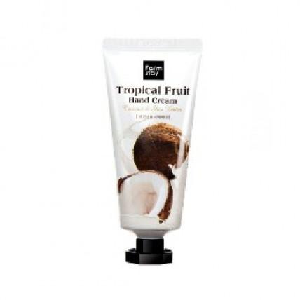 Крем для рук с кокосом и маслом ши Farm Stay Tropical Fruit Coconut & Shea Butter Hand Cream