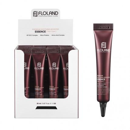 Смягчающая бустер эссенция для поврежденных волос Floland Premium Soothing Booster Essence