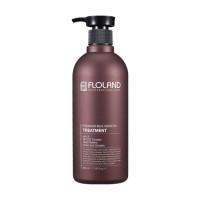 Кондиционер для восстановления поврежденных волос Floland Premium Silk Keratin Treatment
