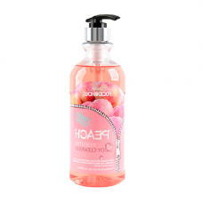 Гель для душа с экстрактом персика FoodaHolic Peach  Essential Body Cleanser