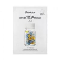 Успокаивающая маска с керамидами JM Solution Derma Care Ceramide Aqua Capsule Mask