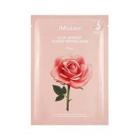 Маска для сияния с экстрактом дамасской розы JM Solution Glow Luminous Flower Firming Mask