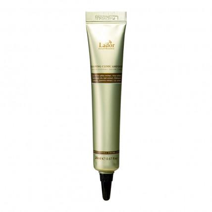 Восстанавливающая ночная сыворотка для волос Lador Snail Sleeping Hair Ampoule