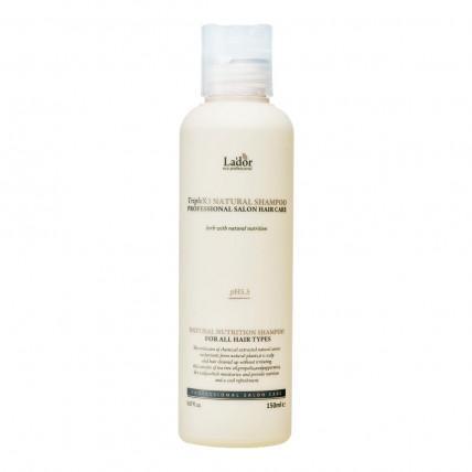 Бессульфатный органический шампунь с эфирными маслами Lador Triplex Natural Shampoo 150 ml