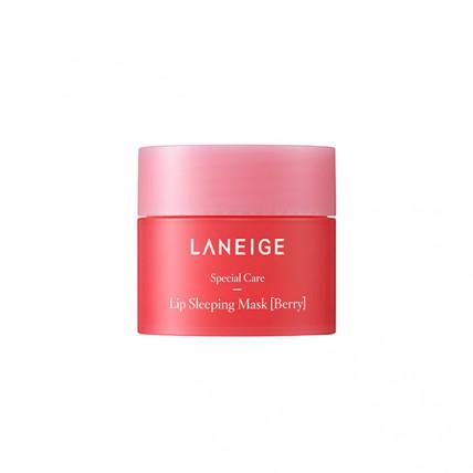 Ночная восстанавливающая маска для губ Laneige Lip Sleeping Mask (Berry) 3 гр