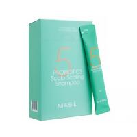 Глубокоочищающий шампунь с пробиотикамиMasil 5 Probiotics Scalp Scaling Shampoo Stick Pouch