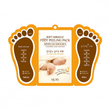 Пилинг носочки  для ног MiJin Care Soft Miracle Foot Peeling Pack