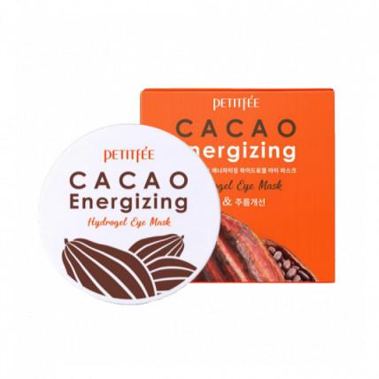 Тонизирующие патчи с экстрактом какаоPetitfee Cacao Energizing Hydrogel Eye Mask