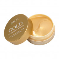 Гидрогелевые патчи для век Petitfee Gold Hydrogel Eye Patch с золотым комплексом