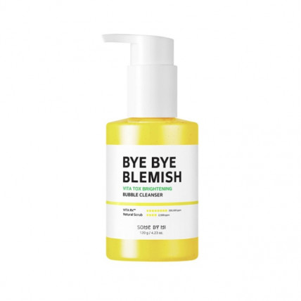 Осветляющая маска-пенка Some By Mi Bye Bye Blemish Vita Tox Brightening Bubble Cleanser