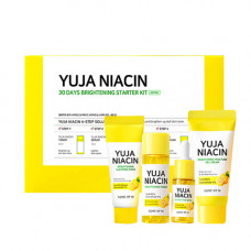 Набор миниатюр с экстрактом юдзу для выравнивания тона Some By Mi Yuja Niacin 30 Days Brightening Starter Kit
