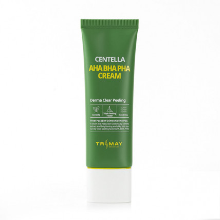 Крем с кислотами и центеллой Trimay Centella AHA BHA PHA Cream